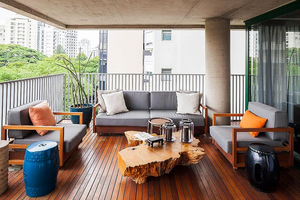 Projeto GM House - Terraço