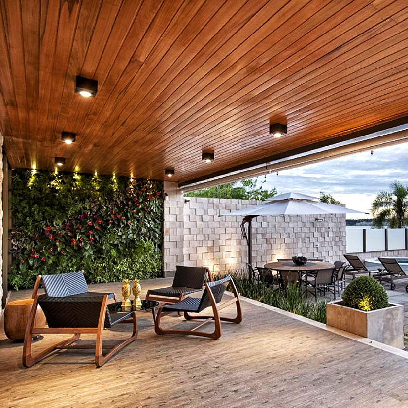 Residencial Project - outdoor area