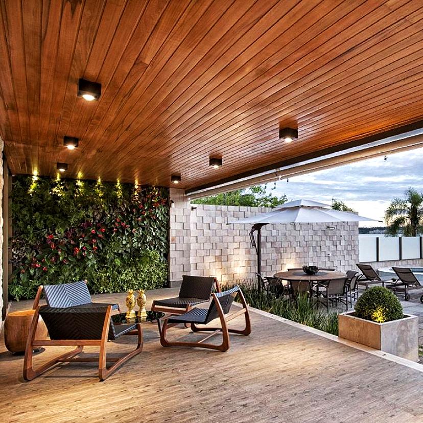 Projeto residencial - área externa
