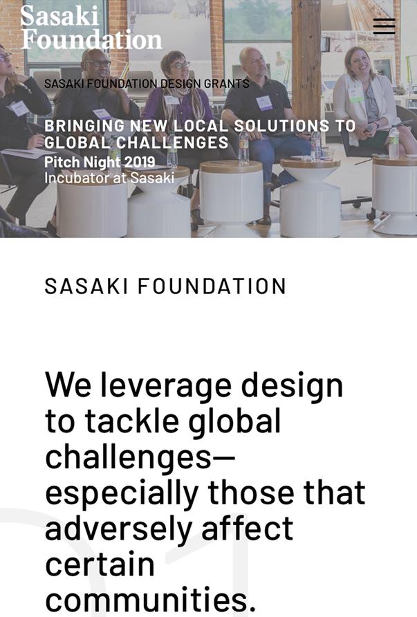 Sasaki Foundation