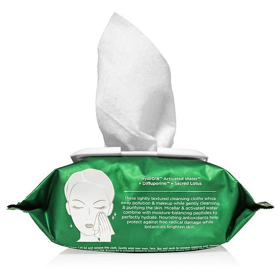 HydroPeptide HYDROACTIVE CLEANSE MICELLAR FACIAL TOWELETTES