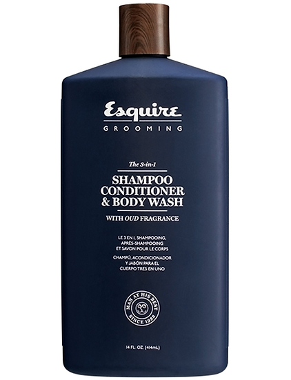 Esquire Grooming Shampoo, Conditioner & Body Wash
