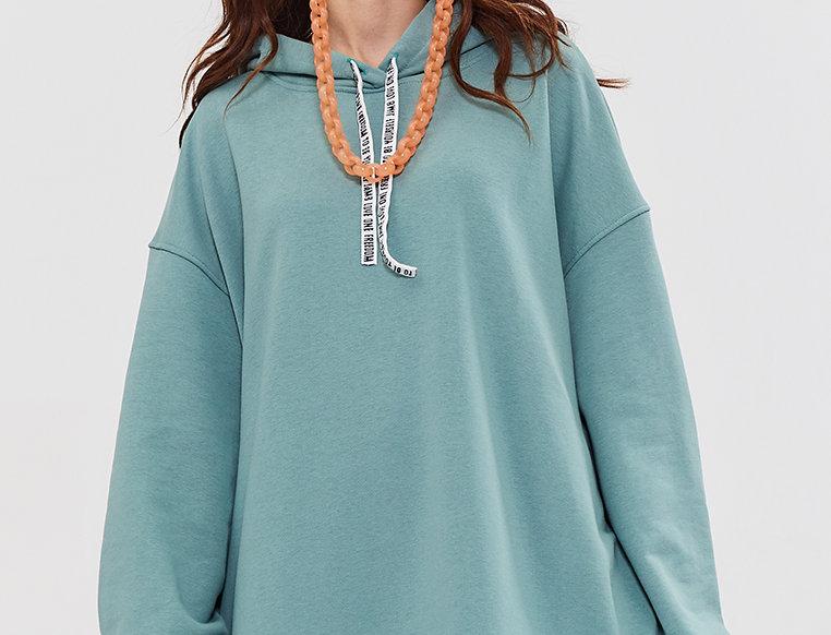 Худи J8Hudi001P Turquoise