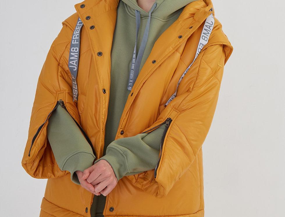 Пальто-трансформер 4 в 1