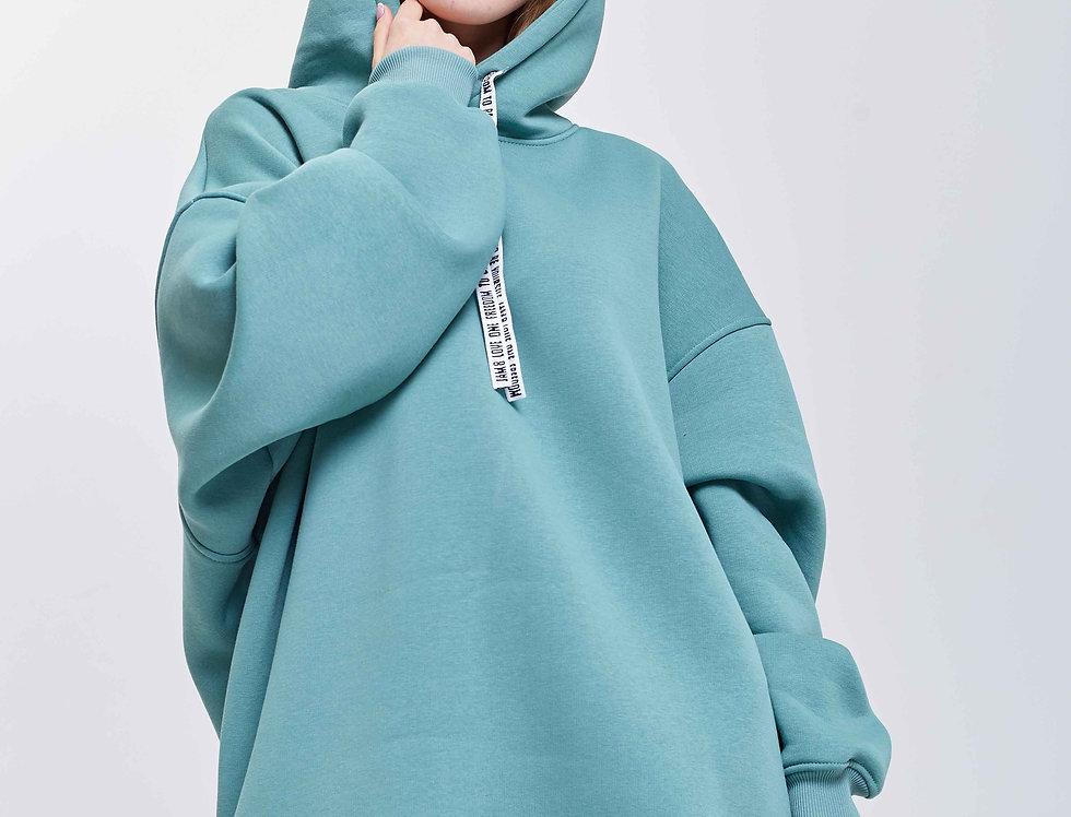 Худи J8Hudi001 Turquoise