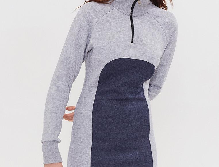 Платье  Dress01LightGreyMelang