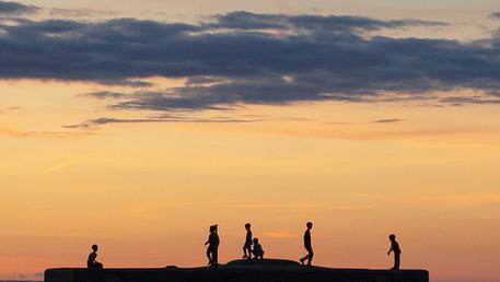 노을이 품은 순간  Sunset beach
