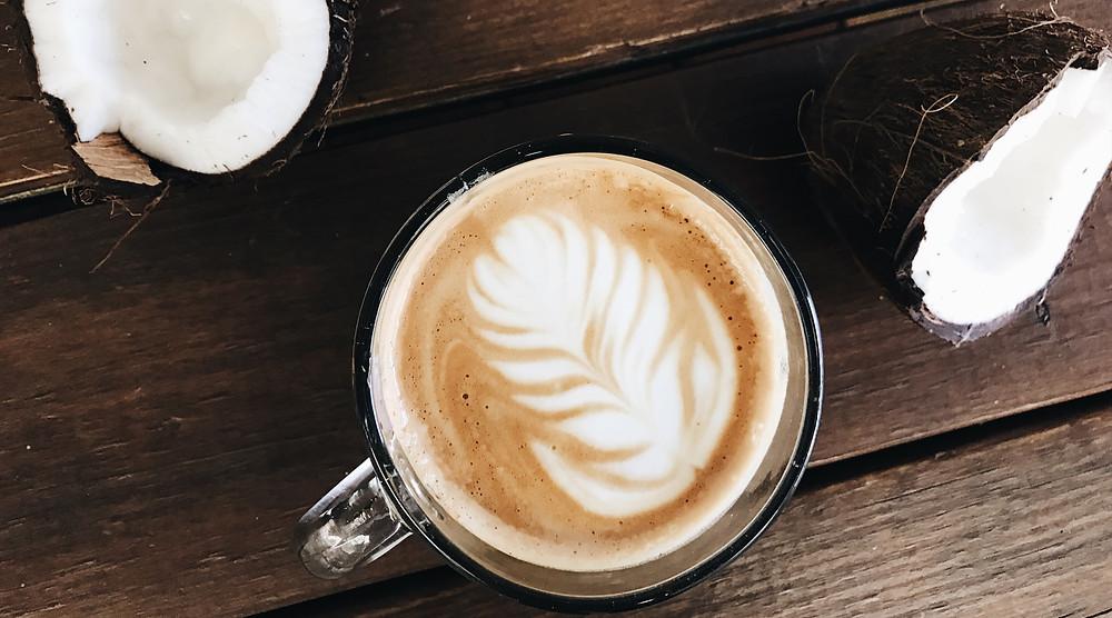 Café con Leche de Coco