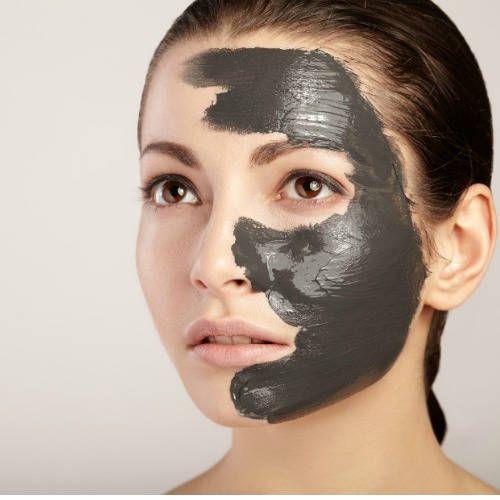 Cuidado de la piel con carbón activado de cascara de coco