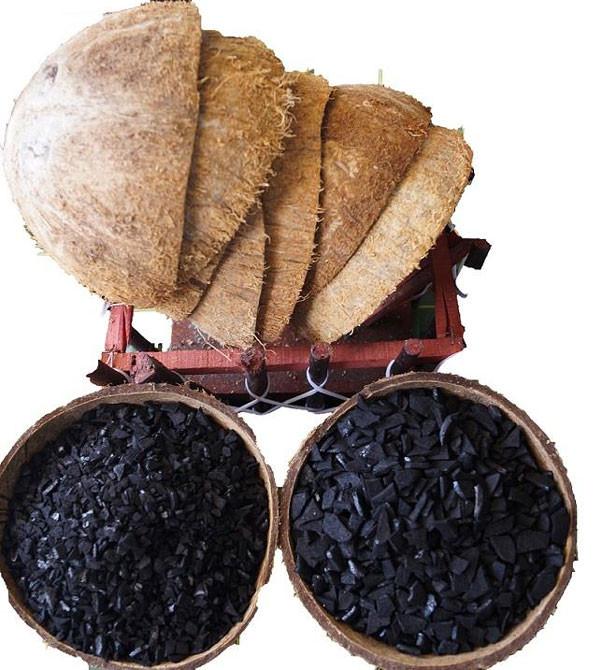 Carbón Activado de Cáscara de Coco    (Beneficios y Usos)