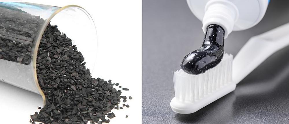 ¿Qué es la crema de dientes de carbón activado de coco?