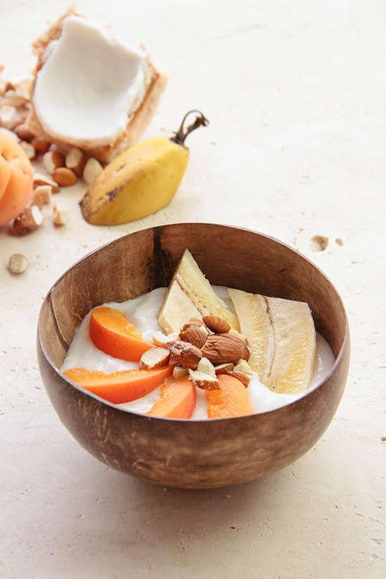 Yogur de Coco con Frutas
