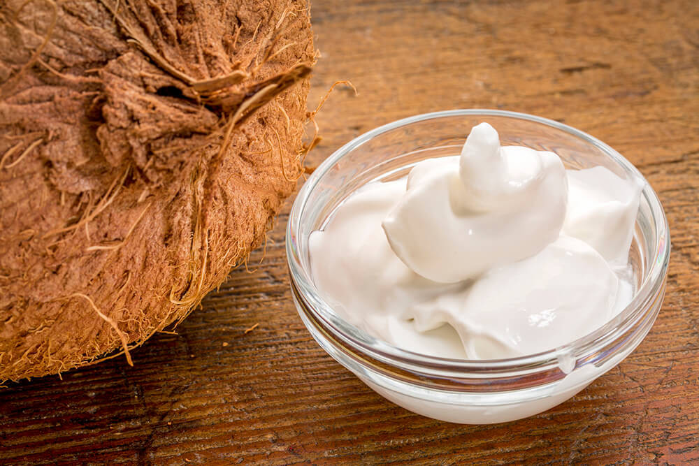 Yogur de Coco casero