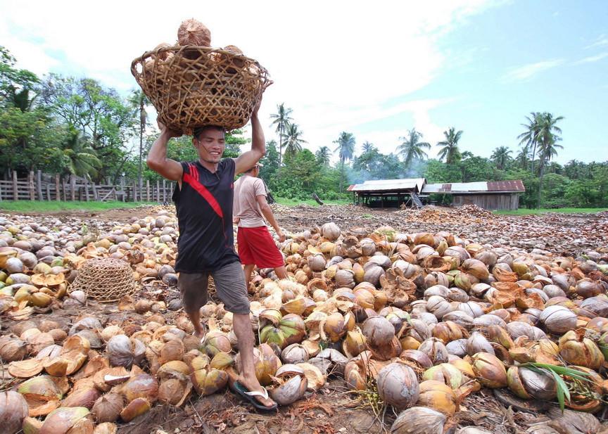 Industria de coco en Filipinas