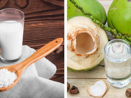 Leche de Coco o Agua de Coco ¿Cuál es la diferencia?