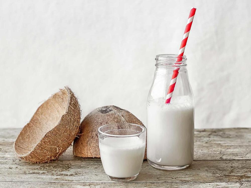¿Qué es la leche de coco?