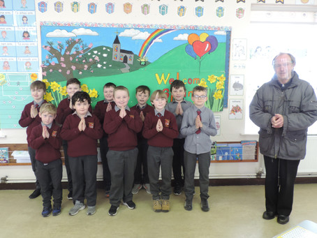Congratulations to the 2nd Class boys on making their Sacrament of Reconciliation.