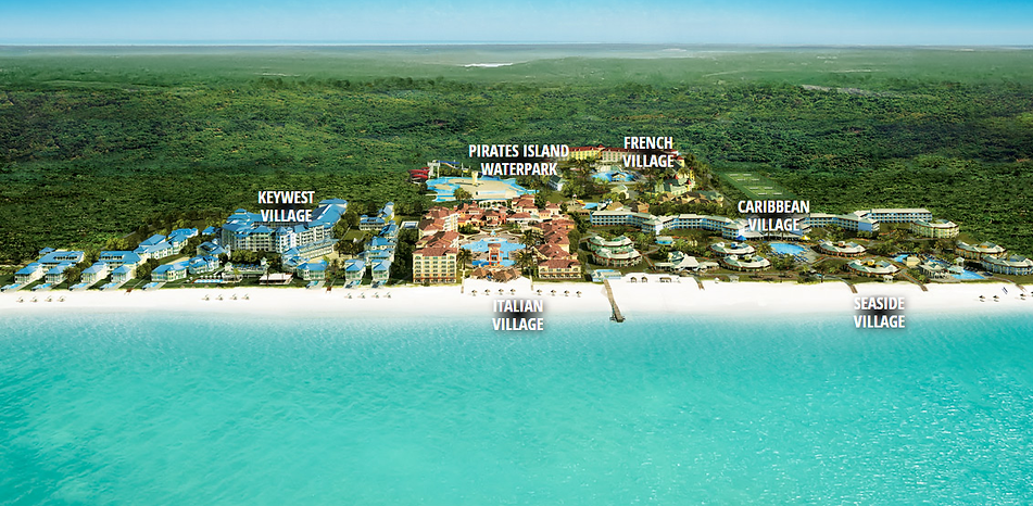 Beaches Turks & Caicos Resort Map Caribbean