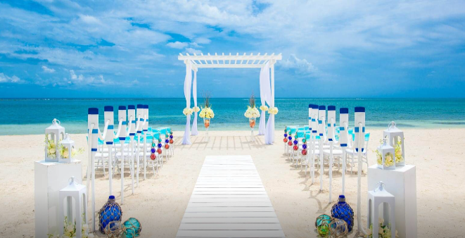 Sandals South Coast Wedding Jamaica Beach Ceremony
