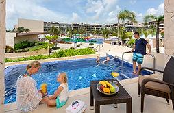 Royalton Riviera Cancun Mexico Swim Out
