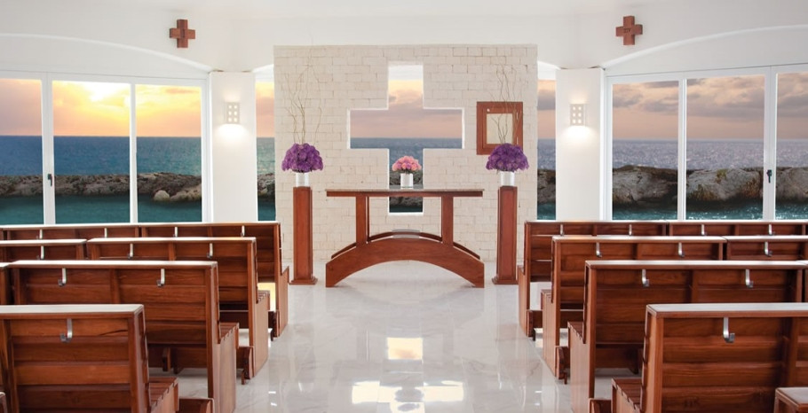 Hard Rock Riviera Maya Wedding Chapel Mexico