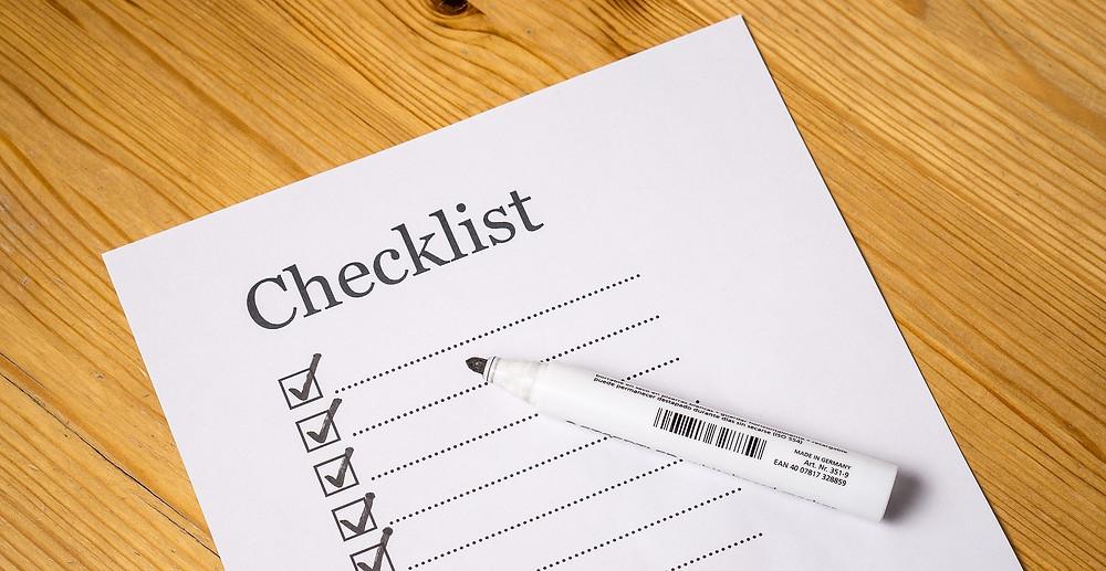 Travel Checklist EverAfter Travel Agency