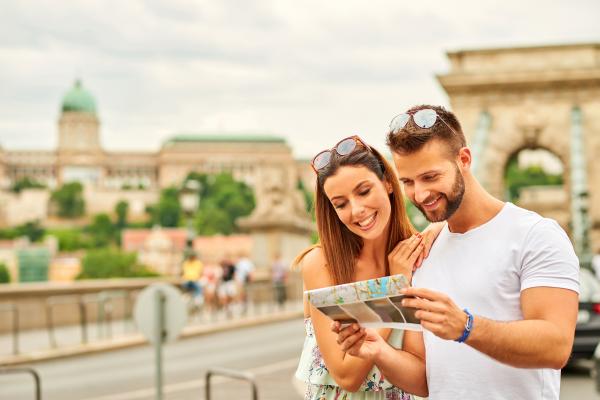 Honeymoon Couple Traveling Europe EverAfter Travel Agency