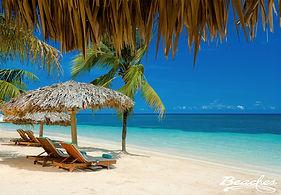 Beaches Ocho Rios Jamaica Caribbean Beach Palapa
