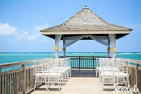 Beaches Ocho Rios Resort Wedding Gazebo Jamaica Caribbean