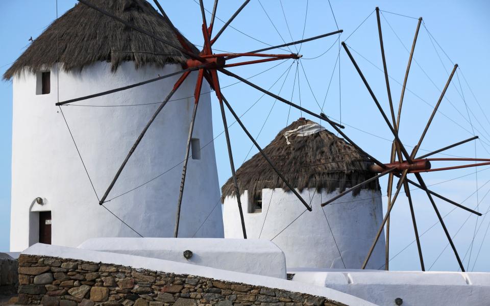 Windmills Mykonos Greece Europe EverAfter Travel Agency