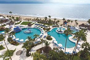 Hard Rock Hotel Vallarta Resort Pools and Beach in Mexico