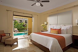 All Inclusive Dreams Tulum Resort Mexico Preferred Club Deluxe Garden Swim Out Adults Only Room