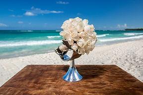Unico Riviera Maya Mexico Wedding Bouquet