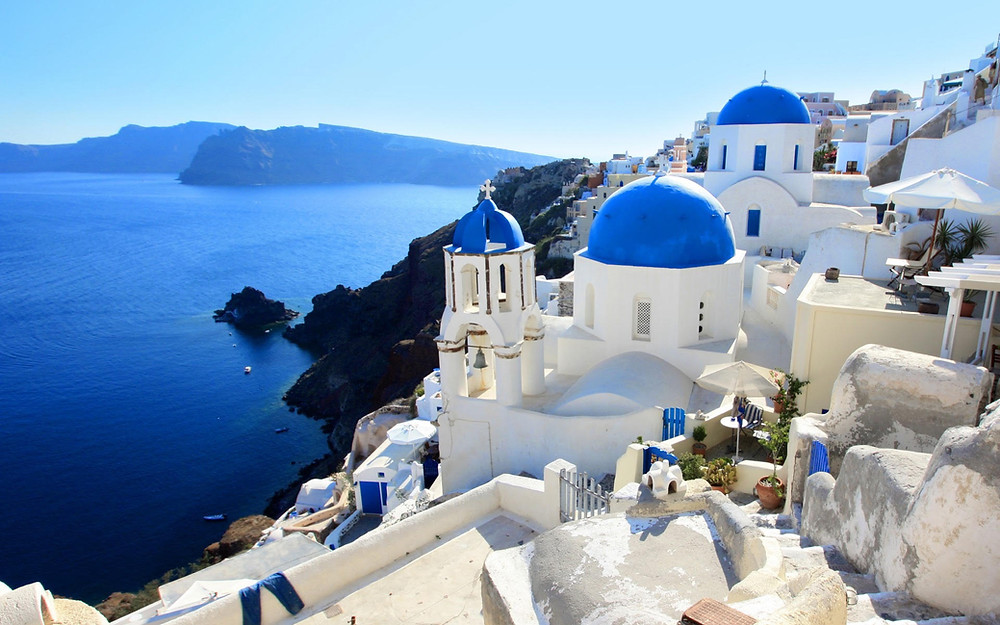 Santorini Greece Honeymoon Travel