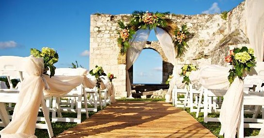 Hilton Rose Hall Wedding Aqueduct Jamaica