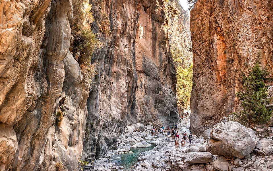 Samaria Gorge Crete Greece Europe EverAfter Travel