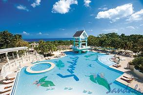 Sandals Ochi Beach Resort Pool Jamaica Caribbean