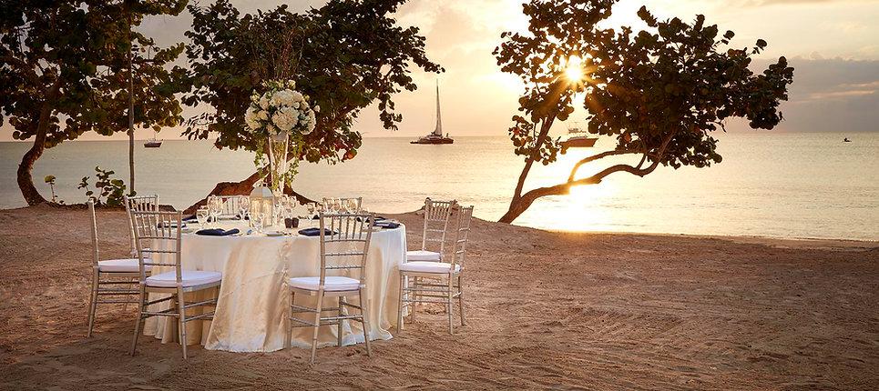 Azul Negril Wedding Jamaica Mahogany Beach Caribbean
