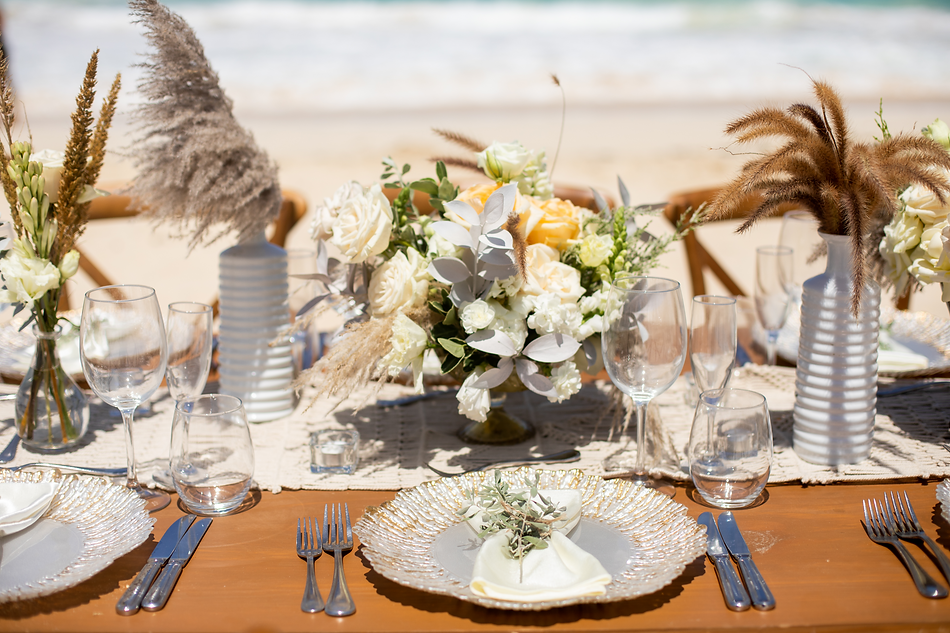Destination Wedding Decor All Inclusive Resort