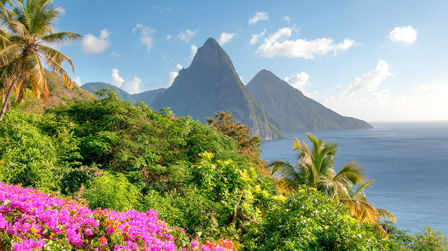 St. Lucia Pitons Caribbean EverAfter Travel Agency