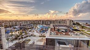 Royalton Riviera Cancun Mexico Wedding Resort Aerial