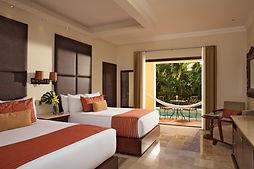 All Inclusive Dreams Tulum Resort Mexico Preferred Club Deluxe Garden Swim Out Room