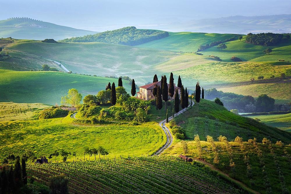 Tuscany Italy Countryside