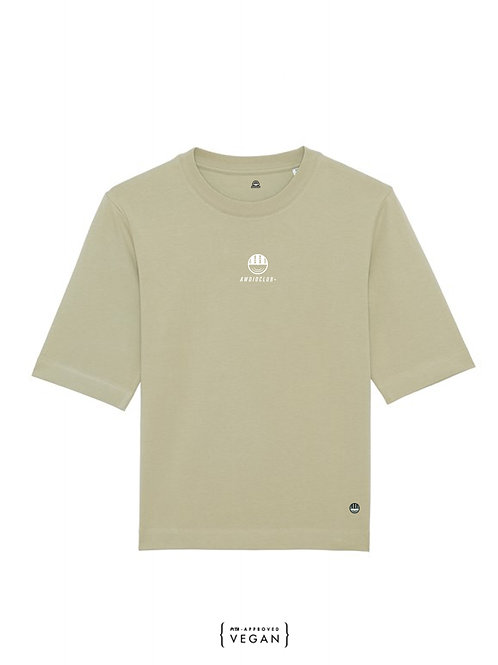 Icon Boxy T - Sage - Womens fit