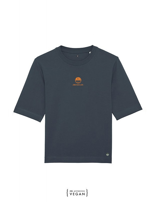 Icon Boxy T - Ink Grey - Womens fit