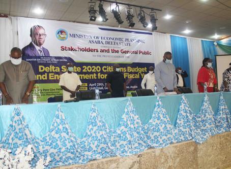 CEPEJ Applauds Gov. Okowa for Delta State 2020 Citizens Budget
