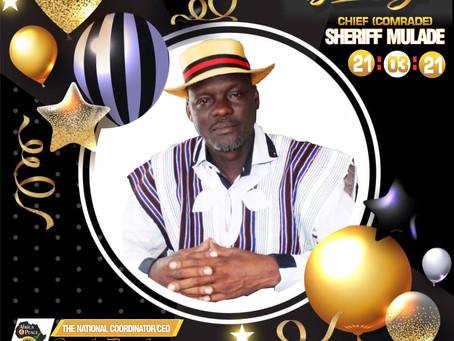 CEPEJ Staff congratulate Boss on his Birthday