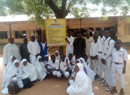 CEPEJ Peace and Environment Club Commences Across Schools in Niger State.