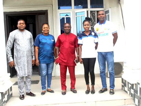 CEPEJ Plays Host to Governor Okowa's Aide - Hon Ako Samuel