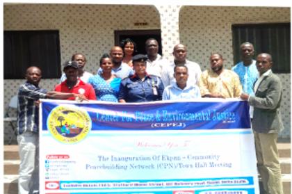 Establishment of Community Peacebuilding Network